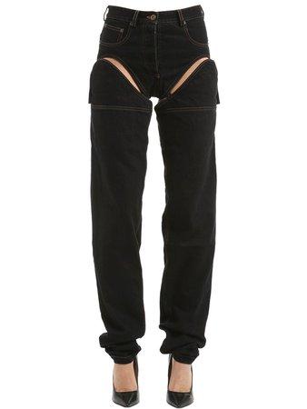 black cut out jeans - Google Search