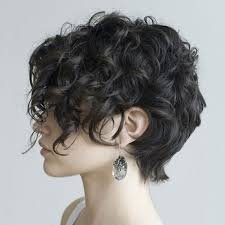 curly short hair - Google Search