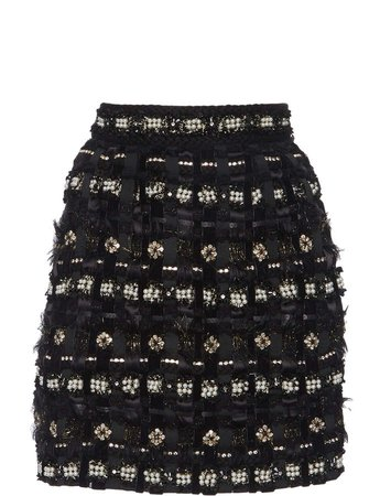 Dolce & Gabbana High-Rise Tweed Skirt