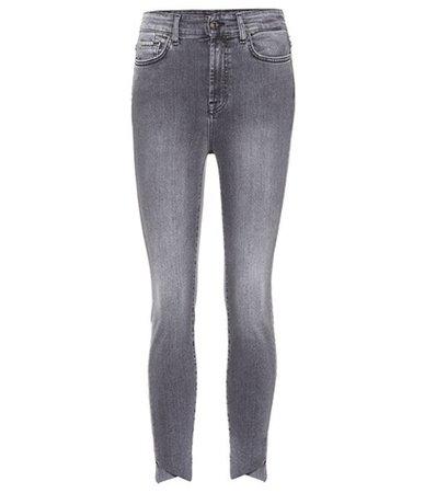 Aubrey skinny cropped jeans