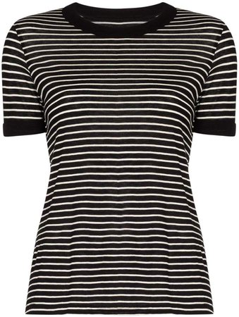 Quinton stripe pattern T-shirt