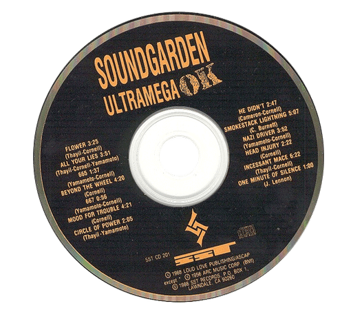 black png filler cd soundgarden