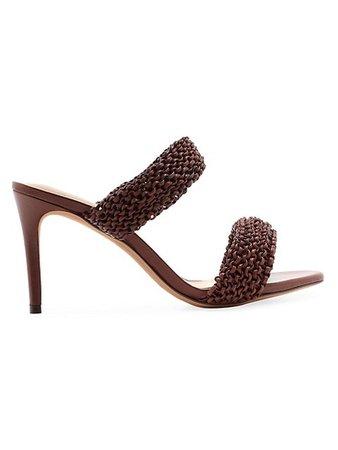 Alexandre Birman Alessia Woven Stiletto Sandals | SaksFifthAvenue