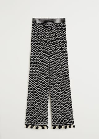 Crochet trousers - Women | Mango USA