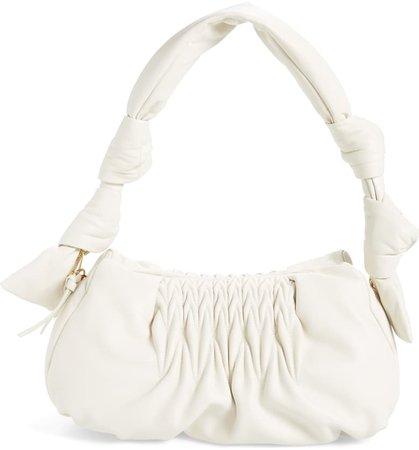 Miu Miu Matelassé Leather Shoulder Bag | Nordstrom