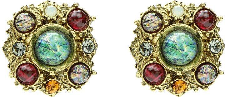 Boheme Cluster Stud Earrings