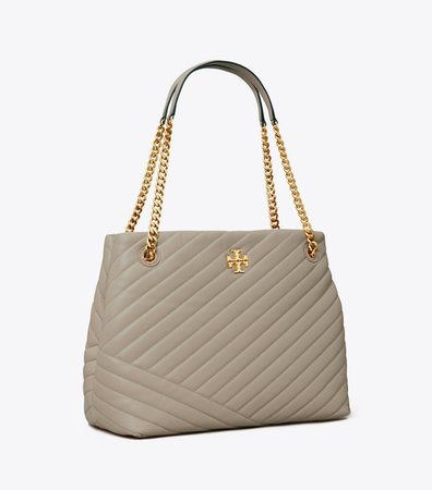 Kira Chevron Tote Bag: Women's Handbags | Tory Burch