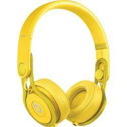 Yellow Beats Headphones