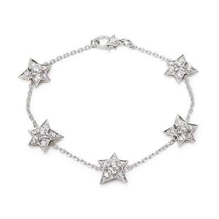 CHANEL Comète white gold bracelet