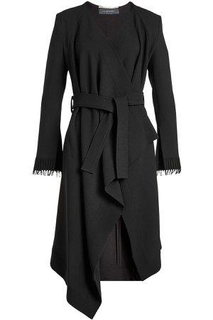 Asymmetric Wool Coat Gr. UK 8