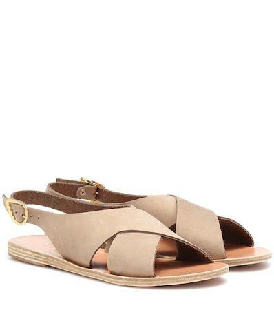 Maria nubuck leather sandals