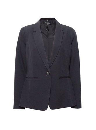 Black Tab Detail Suit Jacket | Dorothy Perkins