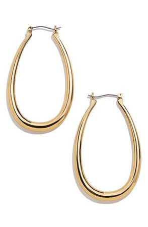 BaubleBar Sophia Hoop Earrings | Nordstrom