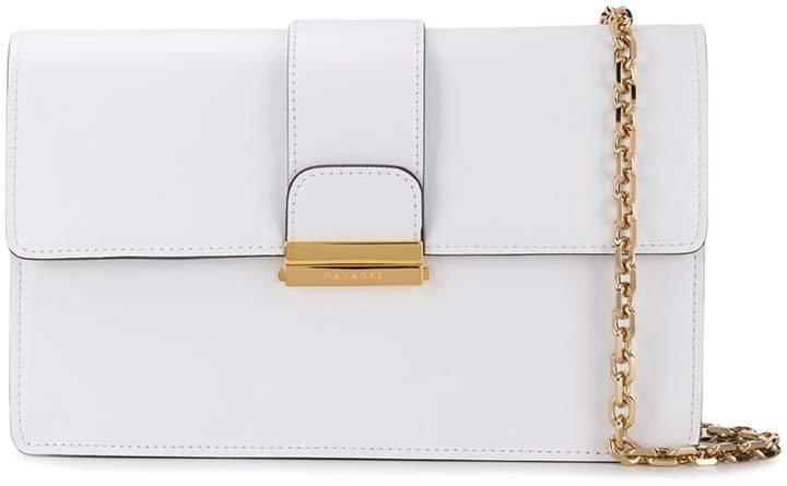 two-tone clutch bag