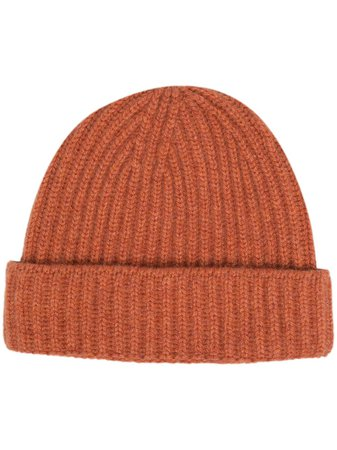 Pringle Of Scotland Ribbed Cashmere Beanie - Farfetch