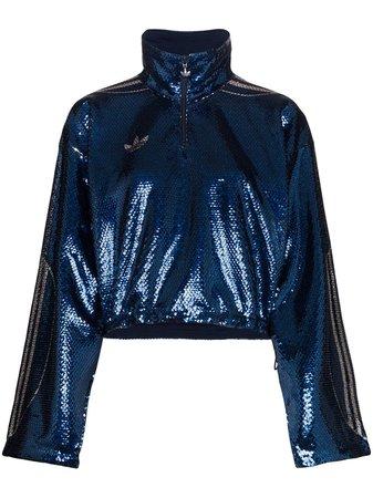 Adidas x Anna Isoniemi Sequinned Track Jacket - Farfetch