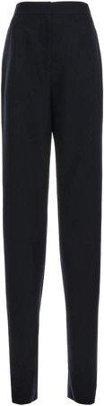 Loewe Embellished Crepe Straight-Leg Pants