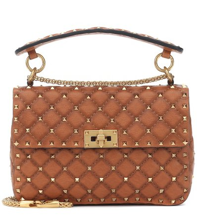 Valentino Garavani Rockstud Spike Medium leather shoulder bag