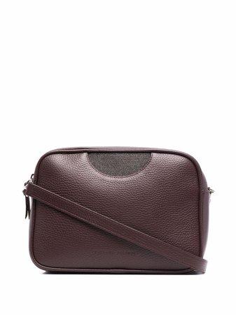 Fabiana Filippi ball-chain embellished crossbody bag - FARFETCH
