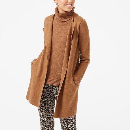J.Crew Factory: Vanessa sweater-jacket