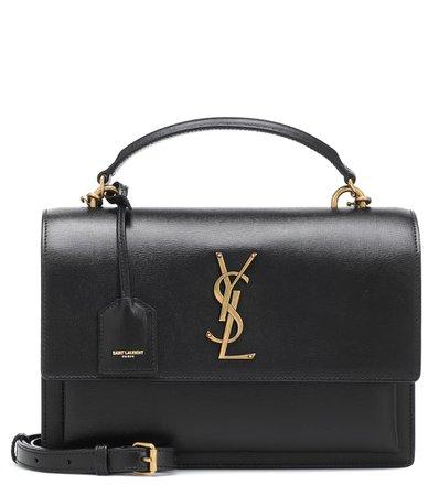 Sunset Monogram Medium Leather Shoulder Bag | Saint Laurent - Mytheresa