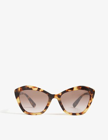 MIU MIU - MU05U cat-eye-frame sunglasses | Selfridges.com