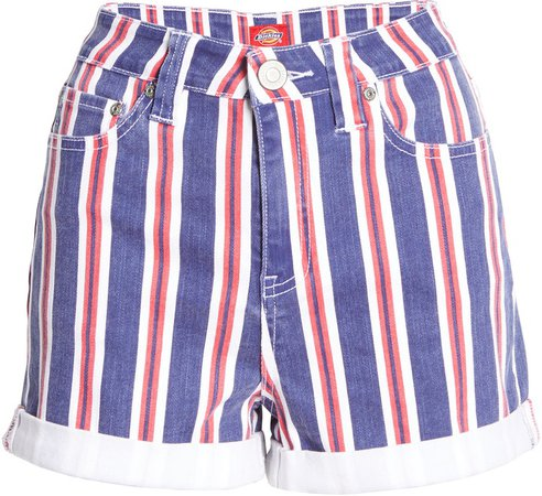 High Waist Stripe Shorts