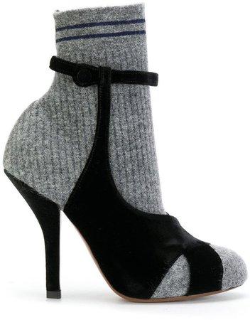 Fendi sandal-shaped boots