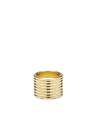Sole Society Cigar Band Ring | Sole Society Shoes, Bags and Accessories gold