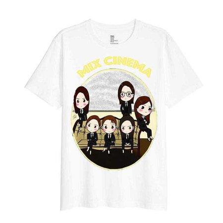 Mix Cinema White T-Shirt