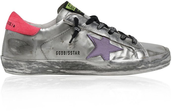 Superstar Metallic Patent Leather Sneakers