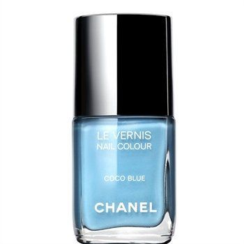 Chanel Blue Nail Polish