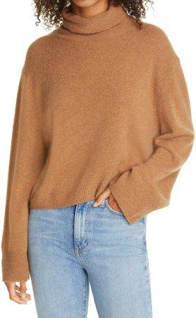 Esme Cashmere Turtleneck Sweater