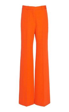 Wool Wide-Leg Trouser by Victoria Beckham | Moda Operandi