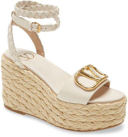 VLOGO Espadrille Platform Sandal