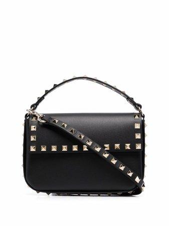 Shop black Valentino Garavani Rockstud mini shoulder bag with Express Delivery - Farfetch