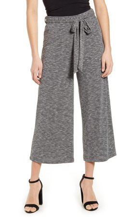 Rib Knit Crop Pants