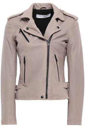 Leather biker jacket   IRO