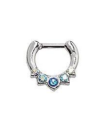 Septum Piercing Jewelry | Septum Clicker - Spencer's
