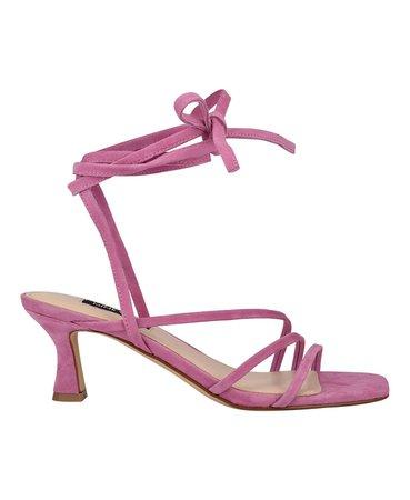 Nine West Women's Agnes Strappy Low Dress Sandals & Reviews - Sandals - Shoes - Macy's