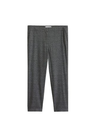 Violeta BY MANGO Prince of Wales trousers