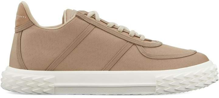 Lace-Up Low Top Trainers