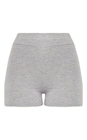Basic Black High Waisted Shorts   Shorts   PrettyLittleThing