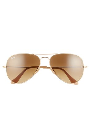 Ray-Ban Standard Original 58mm Aviator Sunglasses | Nordstrom