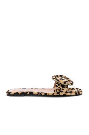Persia Leopard Calf Hair Sandal