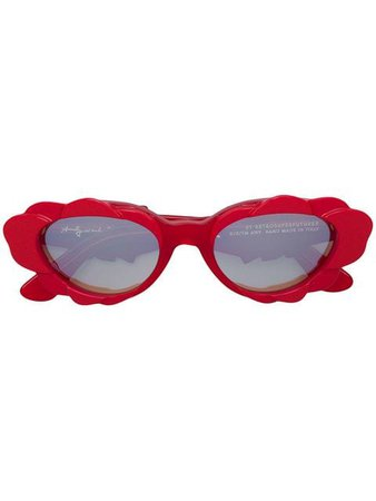Retrosuperfuture RETROSUPERFUTURE X ANDY WARHOL Cat Eye Sunglasses - Farfetch