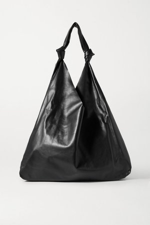 The Row | Bindle Two leather shoulder bag | NET-A-PORTER.COM
