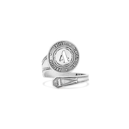 Alex and Ani Number 4 Spoon Ring PC16SR04S - Rings - Alex and Ani - Shop By Brand