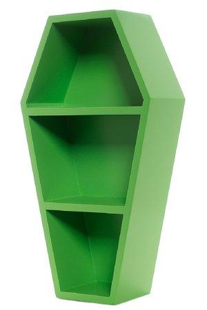 Sourpuss Coffin Shelf - Green – Vampirefreaks Store