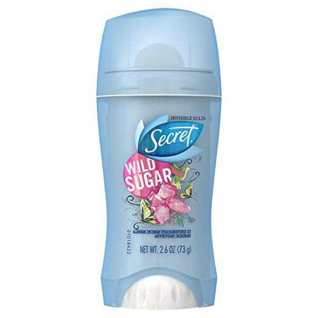 Amazon.com : Secret Fresh Antiperspirant and Deodorant Invisible Solid, Wild Sugar, 2.6 Ounce : Beauty